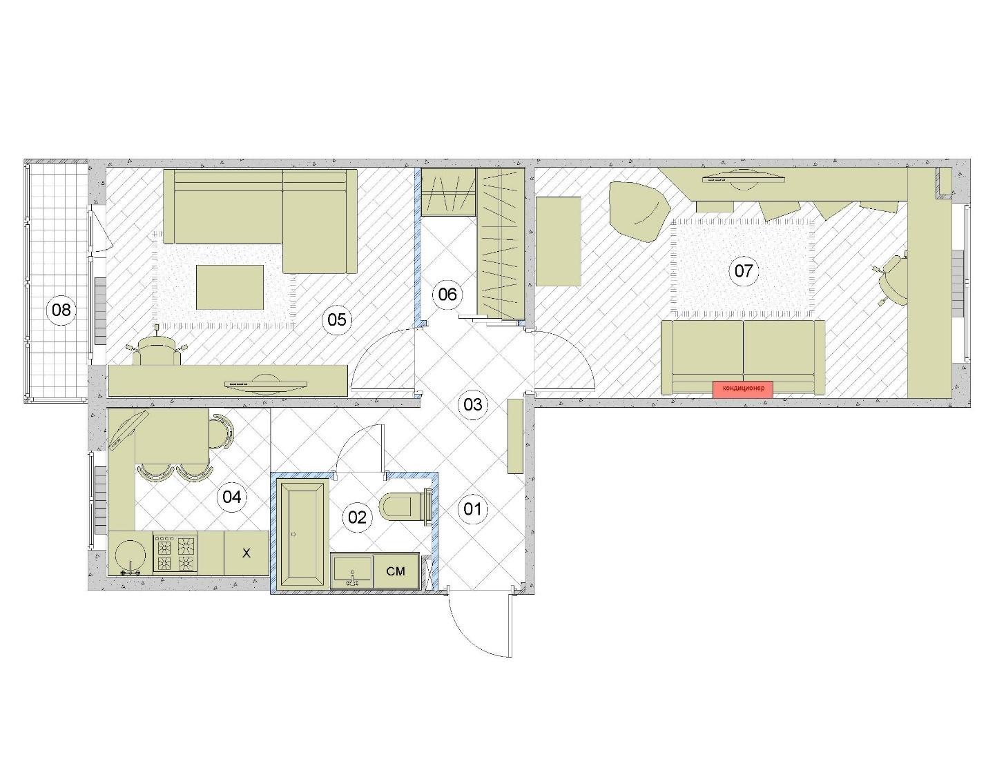 И 155 дизайн двухкомнатной квартиры