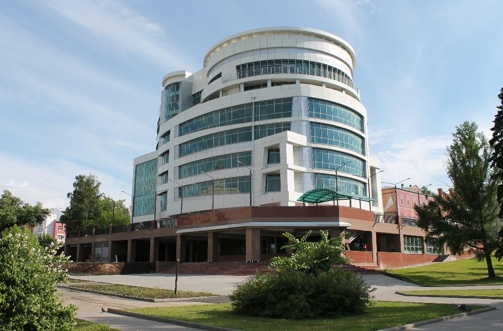 Торгово-офисный центр, готовый к вводу в эксплуатацию