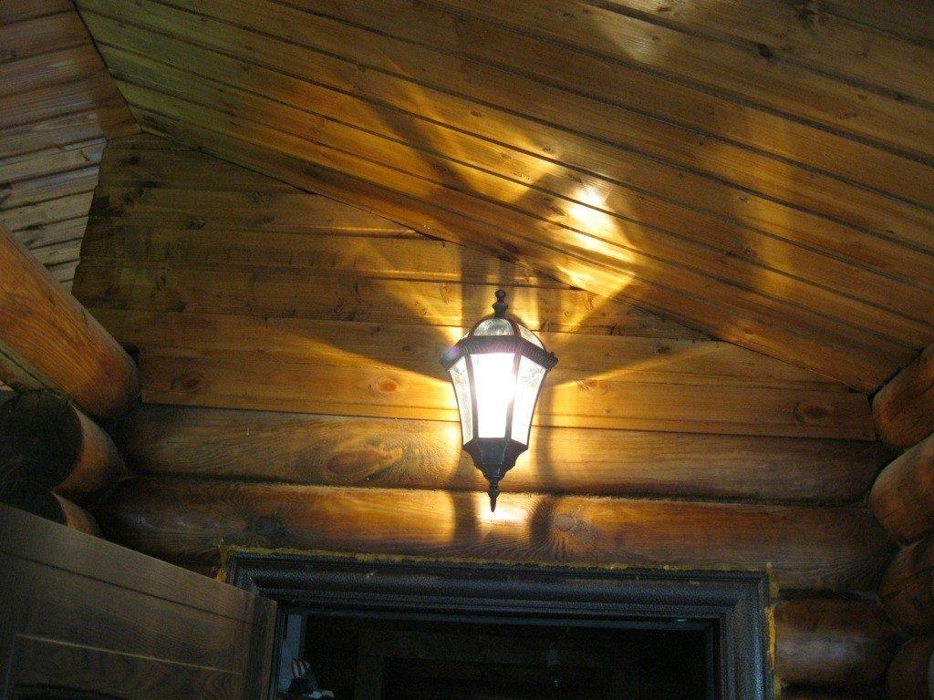 На фото – освещение частного дома