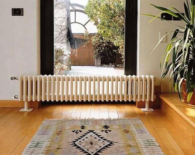 На фото – радиатор отопления